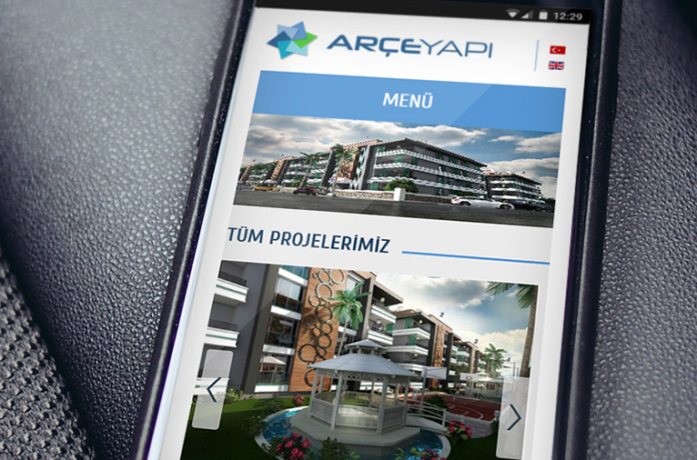 Arce Yapi Corporate Identity & Web Site